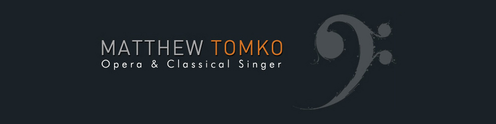Matthew Tomko Music Blog